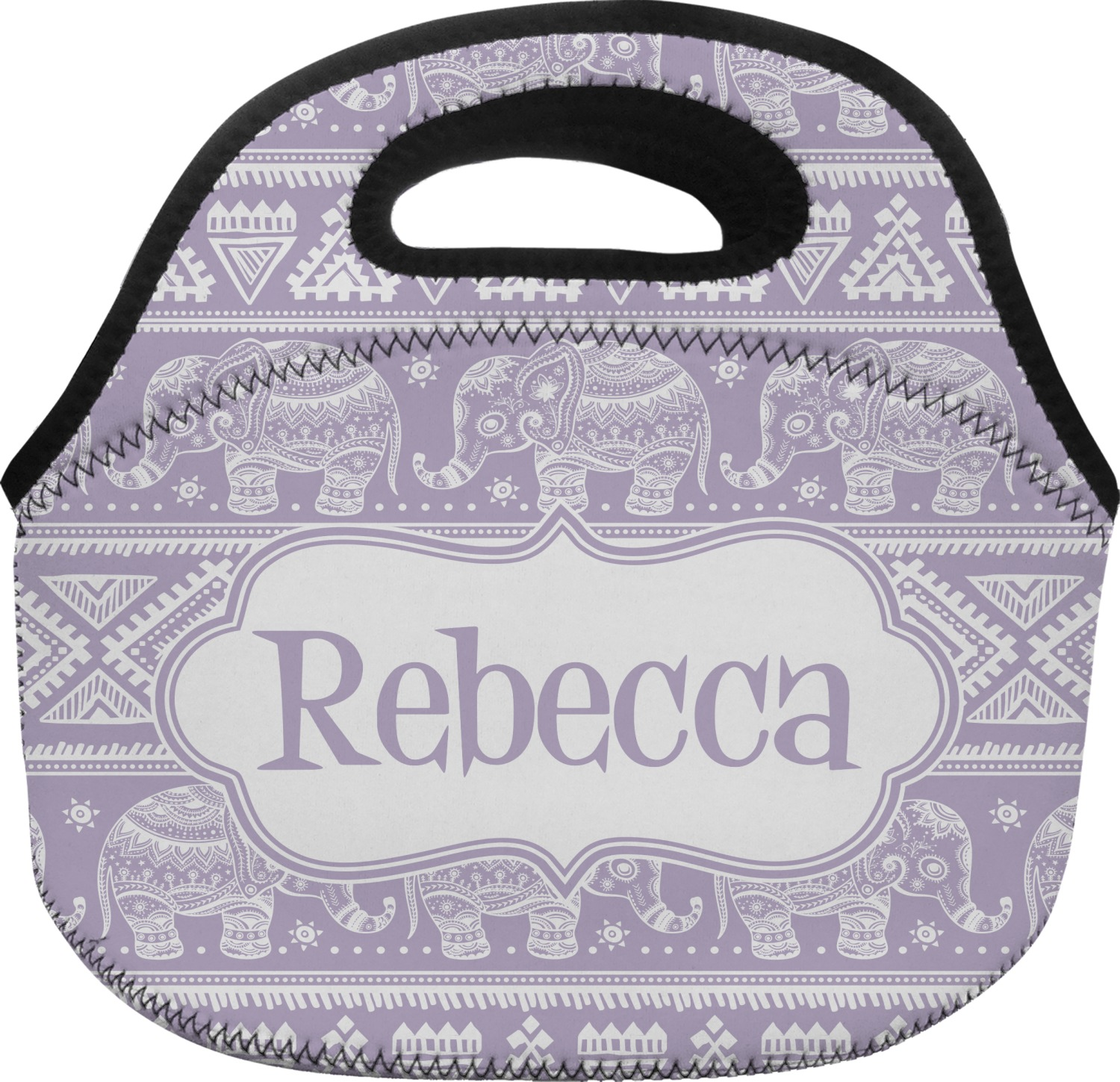 Baby Elephant Lunch Bag Personalized