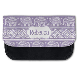 Baby Elephant Canvas Pencil Case w/ Name or Text