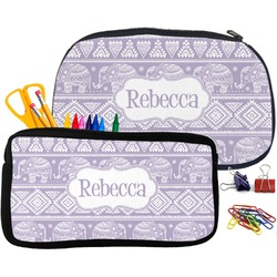 Baby Elephant Pencil / School Supplies Bag (Personalized)