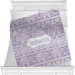 Baby Elephant Blanket (Personalized)