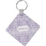 Baby Elephant Diamond Key Chain (Personalized)