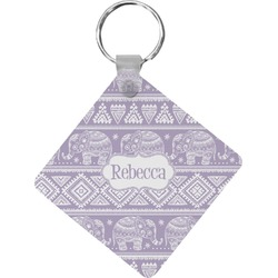 Baby Elephant Diamond Key Chain (Personalized)