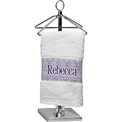 Baby Elephant Cotton Finger Tip Towel (Personalized)
