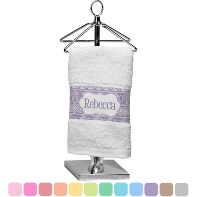 Baby Elephant Finger Tip Towel (Personalized)