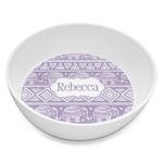Baby Elephant Melamine Bowl 8oz (Personalized)