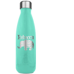 Baby Elephant RTIC Bottle - Teal (Personalized)