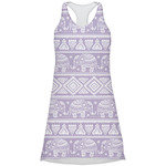 Baby Elephant Racerback Dress (Personalized)
