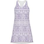 Baby Elephant Racerback Dress (Personalized)