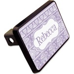 """Baby Elephant Rectangular Trailer Hitch Cover - 2"""" (Personalized)"""