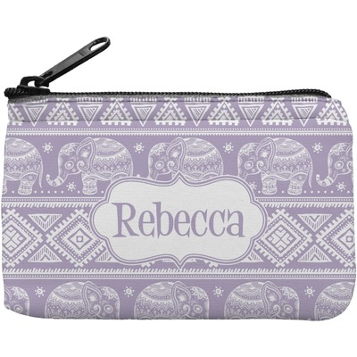 Baby Elephant Rectangular Coin Purse (Personalized)