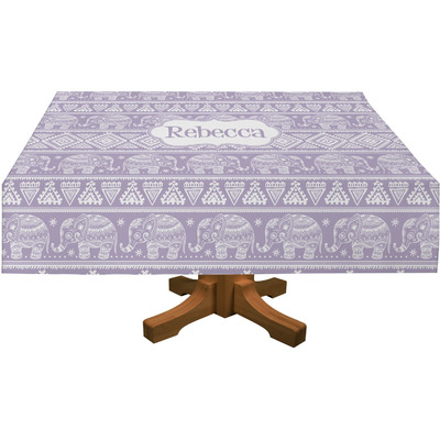 """Baby Elephant Tablecloth - 58""""x102"""" (Personalized)"""