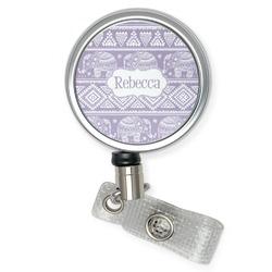 Baby Elephant Retractable Badge Reel (Personalized)