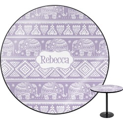 "Baby Elephant Round Table - 30"" (Personalized)"