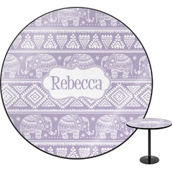Baby Elephant Round Table (Personalized)