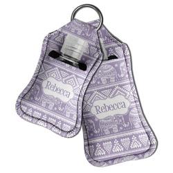 Baby Elephant Hand Sanitizer & Keychain Holder (Personalized)