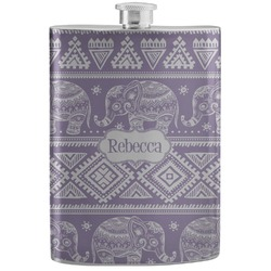 Baby Elephant Stainless Steel Flask (Personalized)