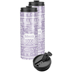 Baby Elephant Stainless Steel Skinny Tumbler (Personalized)