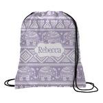 Baby Elephant Drawstring Backpack (Personalized)