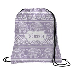 Baby Elephant Drawstring Backpack (Personalized)