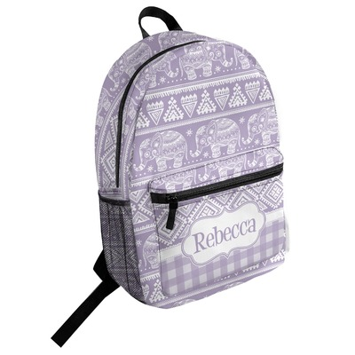 Baby Elephant Student Backpack (Personalized)