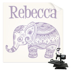Baby Elephant Sublimation Transfer (Personalized)