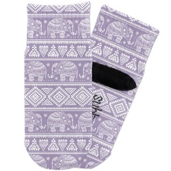 Baby Elephant Toddler Ankle Socks (Personalized)