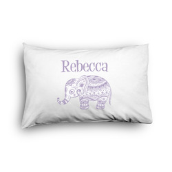 Baby Elephant Pillow Case - Toddler - Graphic (Personalized)