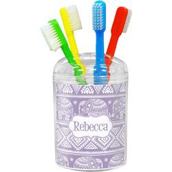 Baby Elephant Toothbrush Holder (Personalized)