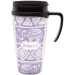 Baby Elephant Travel Mug with Handle (Personalized)