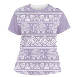 Baby Elephant Women's Crew T-Shirt (Personalized)