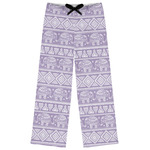 Baby Elephant Womens Pajama Pants (Personalized)