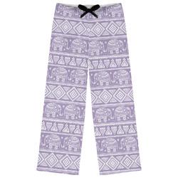 Baby Elephant Womens Pajama Pants (Personalized)
