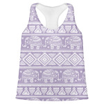 Baby Elephant Womens Racerback Tank Top (Personalized)