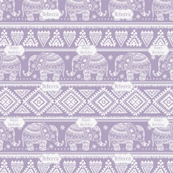 Baby Elephant Wrapping Paper (Personalized)