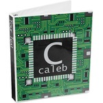 Circuit Board 3-Ring Binder (Personalized)