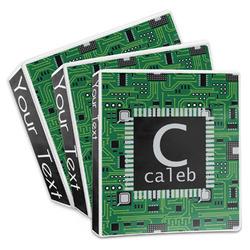 Circuit Board 3-Ring Binder (Personalized)