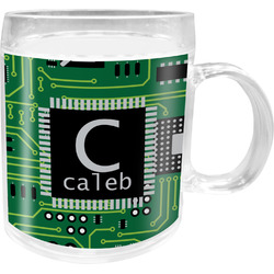 Circuit Board Acrylic Kids Mug (Personalized)