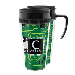 Circuit Board Acrylic Travel Mugs (Personalized)