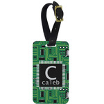 Circuit Board Aluminum Luggage Tag (Personalized)