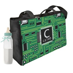 Circuit Board Diaper Bag (Personalized)
