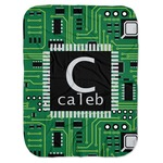 Circuit Board Baby Swaddling Blanket (Personalized)