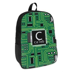 Circuit Board Kids Backpack (Personalized)