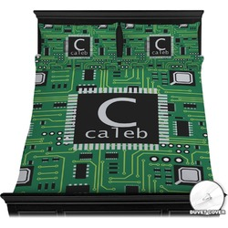 Circuit Board Duvet Cover Set (Personalized)