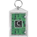 Circuit Board Bling Keychain (Personalized)