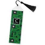 Circuit Board Book Mark w/Tassel (Personalized)