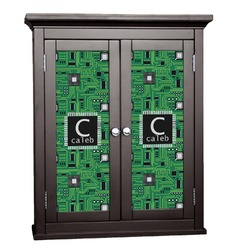 Circuit Board Cabinet Decal - Custom Size (Personalized)