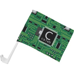 Circuit Board Car Flag (Personalized)
