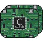 Circuit Board Car Floor Mats (Back Seat) (Personalized)