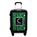 Circuit Board Carry On Hard Shell Suitcase (Personalized)