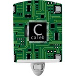 Circuit Board Ceramic Night Light (Personalized)